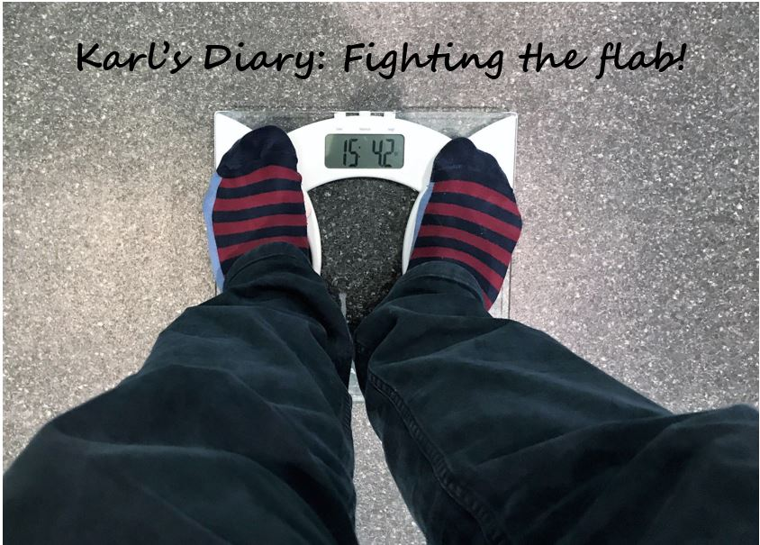 Karl's Diary: I've become a fat fighter!